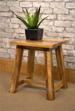 MANT-218 MANGO WOOD DINING STOOL